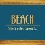 BEACH Boutique Éphémère à Montpellier…